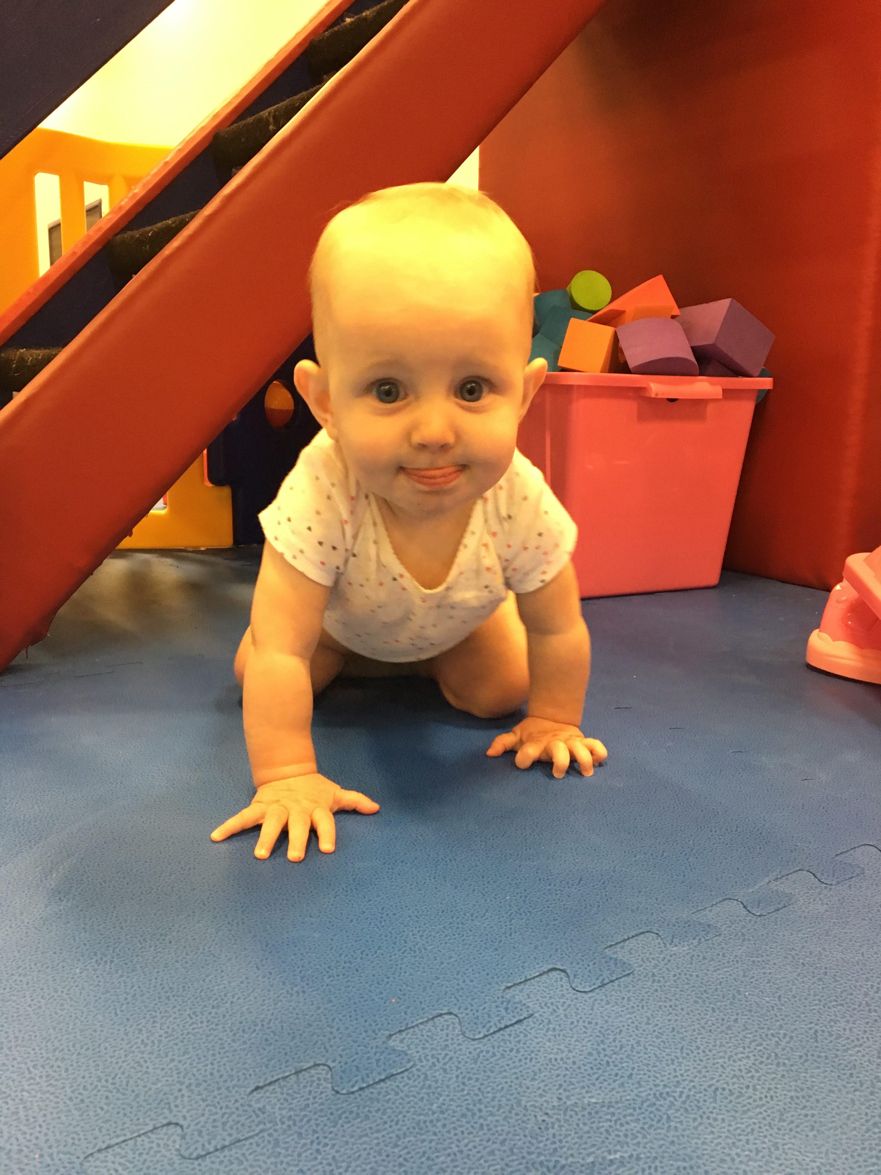 WRTS Jacksonville baby crawling